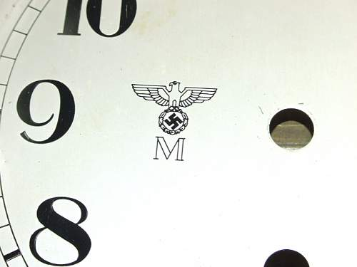 Fake Kriegsmarine and Kaiserliche Marine Clocks At The War & Peace Revival