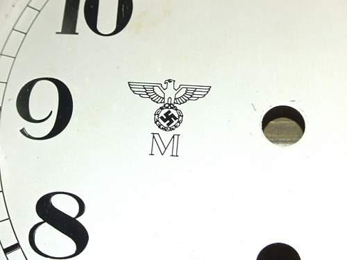 Fake Kriegsmarine and Kaiserliche Marine Clocks At The War & Peace Revival