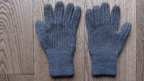 Wehrmacht winter gloves