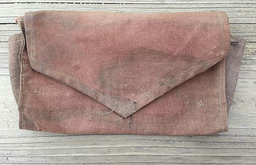 Theatre made/field made German ID paper carrier/wallet in Italian camo