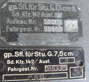 Intersting panzer (?) plates