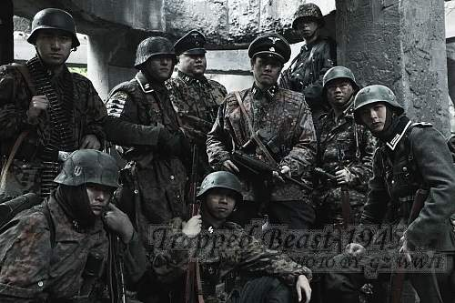 Wehrmacht Tornister Affe 1943
