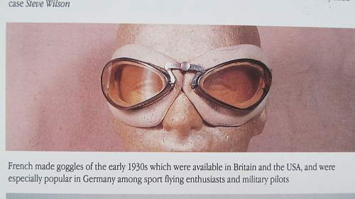 Flying Goggles German??