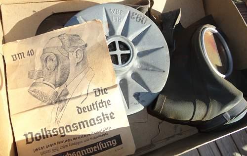 DM40 Gasmask