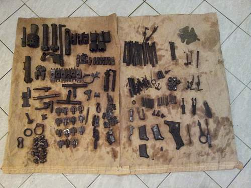 Part from the Waffenmeister spare parts box.