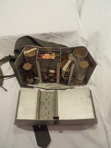 Luftscutz gas detection pump and associated belt kit