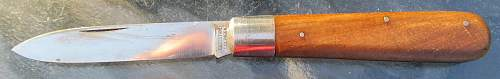 Gussstahl Pocket Knife - is this military issue or personal buy