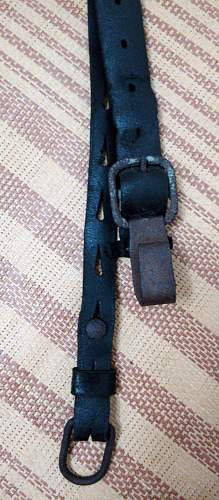 ww2 german Y strap