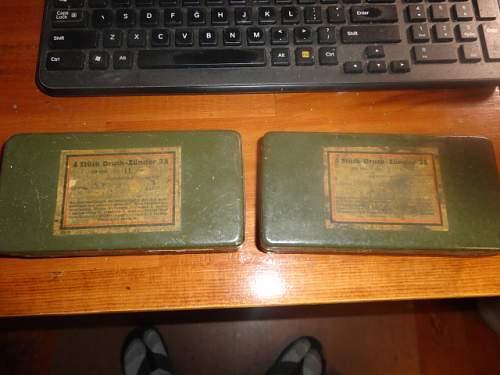 "My ""NEW"" German WW2 AMMO CRATES"