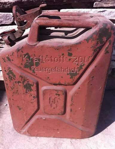 SS Jerry Can: Real or Fake?