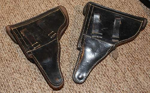 2 New Holsters - P08 and P38