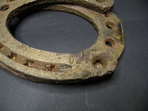 German Army Horseshoes