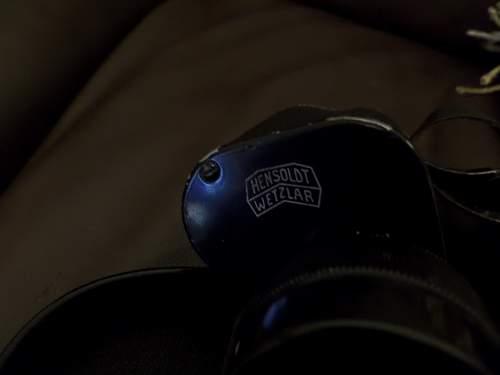 German ww2 Police Binoculars