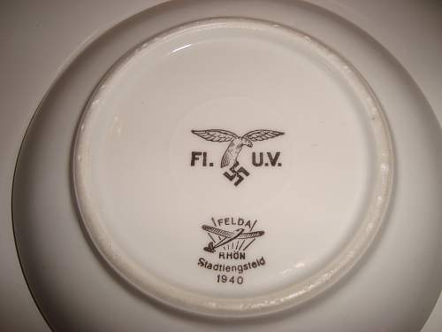 Nazi plate for sale