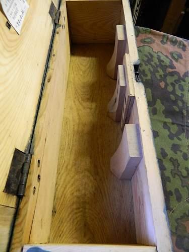 Wehrmacht Wooden Box