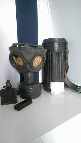 German ww2 gasmask OK?