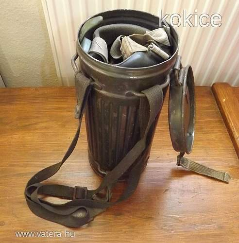 New gasmask+can pick-up...
