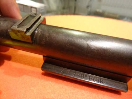 Z.F. 3x8 Flak optics for 9.4 cm Vickers