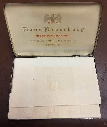 Haus Neuerburg Complete Cigarette Pack