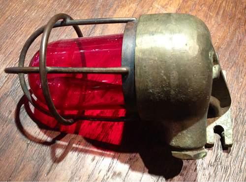 U-boot red lights