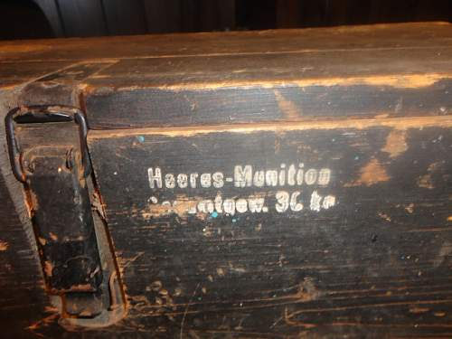 A Good Day today, nice ammo box, can anyone tell me what it's for (P1)