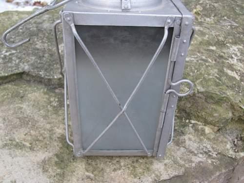 Luftwaffe / Luftschutz Field Lantern