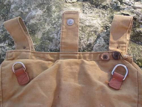 My new German bread bag