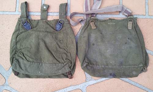 A study of breadbags throughout the war