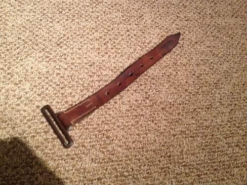 German saddle strap ?