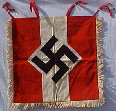 Hitler youth bugle banner