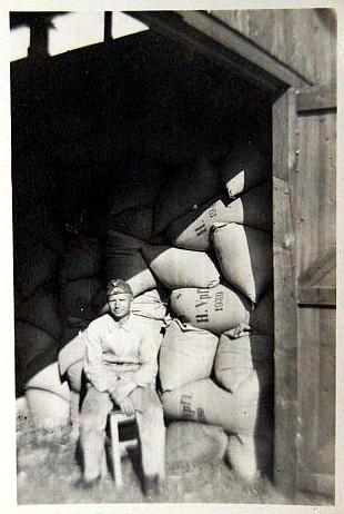 ww2 german rations bag