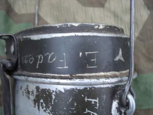 German ww2 canteen trench art
