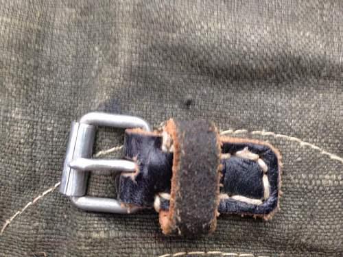 Gemaschen/Tornister strap