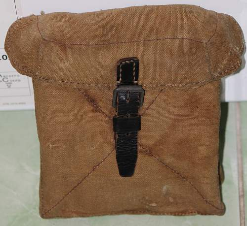 Interesting pouch (i think late MG pouch) your opinion?