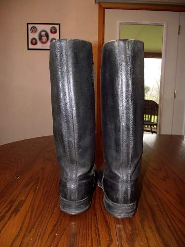 WW2 German marching boots