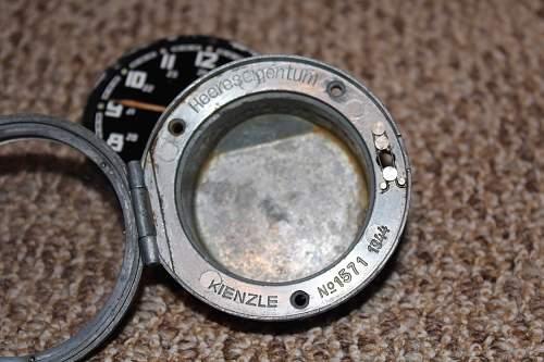 1944 Kienzle Heer Clock
