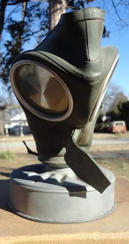 1939 WW2 German VM-40 gas mask set
