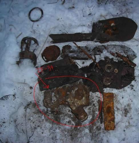 Ground dug Mg optic from Stalingrad