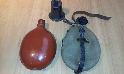Some feldflasche history