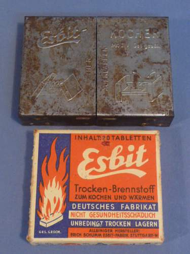 Esbit No9 Kocher with Fuel tablets