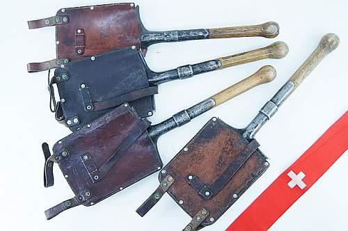 German entrenching tools, original?