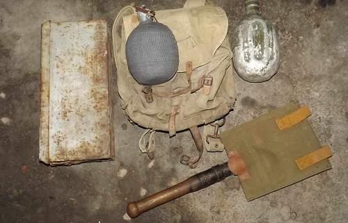 M1950 Hungarian gear...with a bonus!