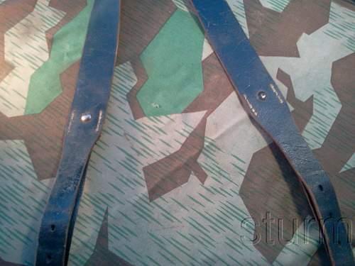 Late war German Y-straps, real or fake? 1944.