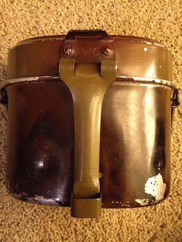 AWC marked M31 mess kit (post for friend)
