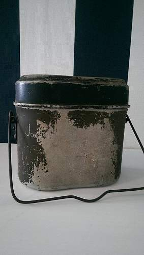 Kochgeschirr dated 1944