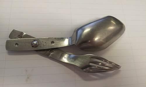Spoon / Fork ( spork ) in stainless steel??