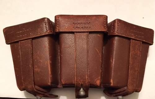 German Cartridge Boxes
