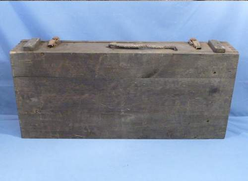Original WWII German Box for 8cm (80mm) Mortar Rounds