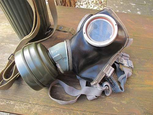 My second gas mask and canister