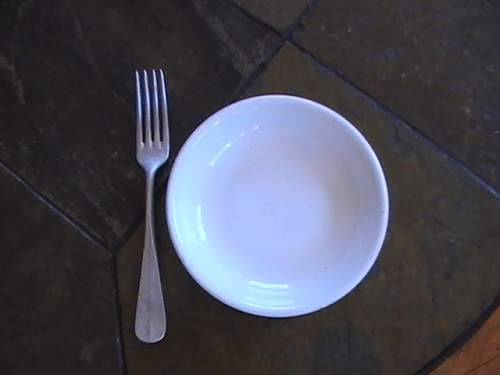Luft fork and dish